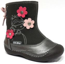 Зимние ботиночки DDStep 015-109