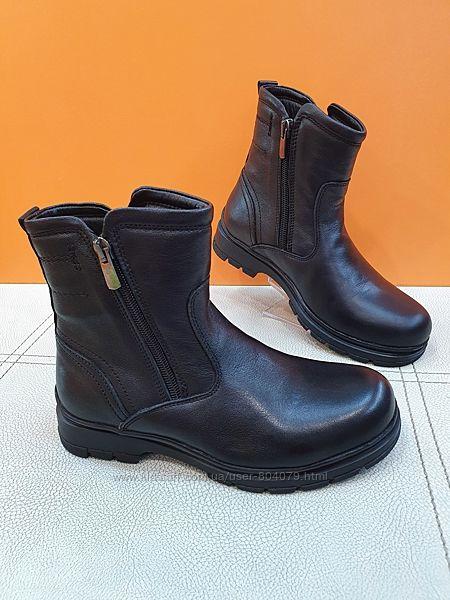 Кожаные зимние ботинки K. Pafi  32-39р 60-383-W