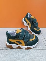 Кожаные кроссовки Toddler 21-25р 6401