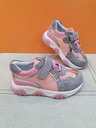 Кожаные кроссовки Toddler 26-30р 6396