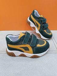 Кожаные кроссовки Toddler 26-30р 6410