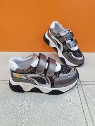 Кожаные кроссовки Toddler 26-30р 6415