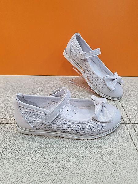 Кожаные туфли Bayrak 26-30р 3025