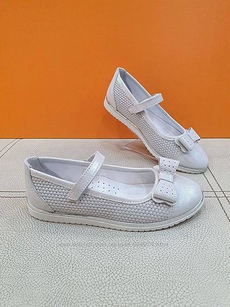Кожаные туфли Bayrak 31-36р 3035