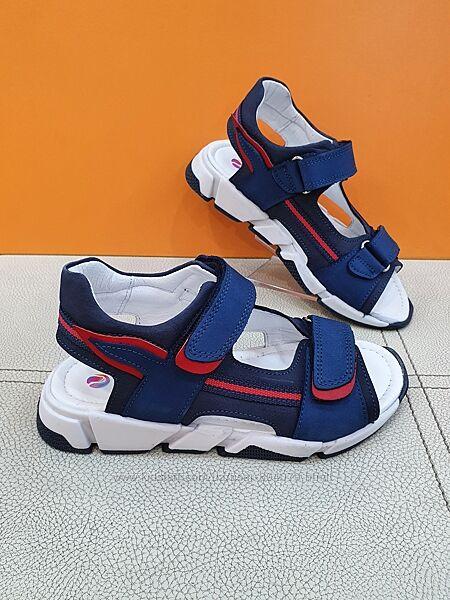 Кожаные сандали Pinky 31-36р 337-F