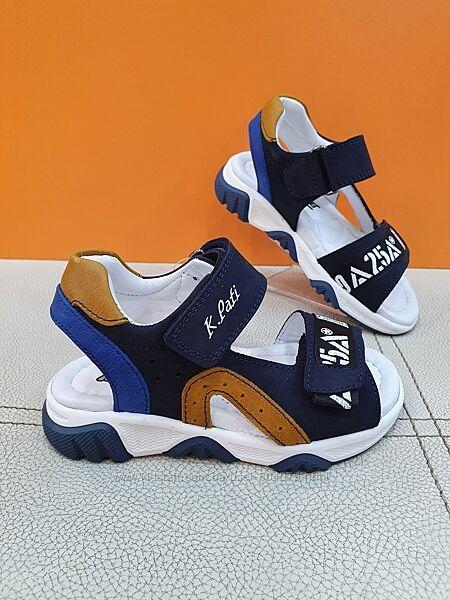 Кожаные сандали K. Pafi 26-30р 602-04