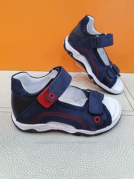 Кожаные сандалии Pinky 26-30р 523-P