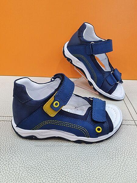 Кожаные сандалии Pinky 26-30р 628-P
