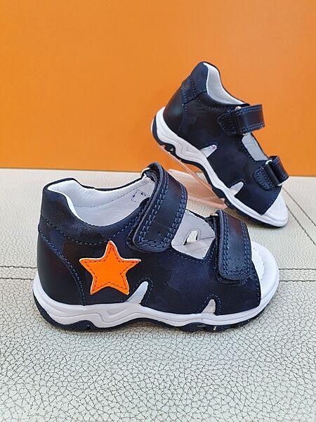 Кожаные сандалии Pinky 21-25р 606-B