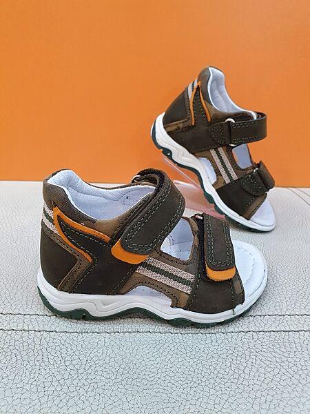 Кожаные сандалии Pinky 21-25р 326-B