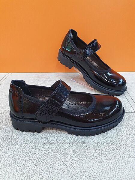 Кожаные туфли K. Ppafi 31-36р 810-02