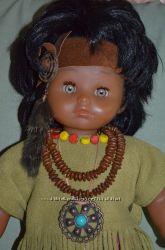 Кукла мулатка GOTZ-Puppe Германия. рост-50см. Клеймо-роспись.