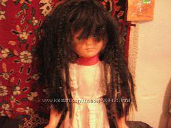 новогодний парик  с пятью косичками