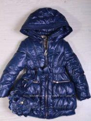 Продам красивенное зимнее пальто на принцессу, 116 р