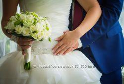 Продам счастливое свадебное платье не венчанное нежного цвета ivory
