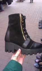 Продам ботинки женские зимние, деми кожа 3 модели