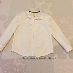 Рубашка крейзи 8 на девочку р 7-8 с юбкой в подарок