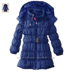 Евро зима длинный пуфовик  на 4 года  пальто