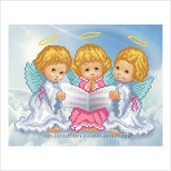 Ангелочки - Канва и наборы для вышивания бисером