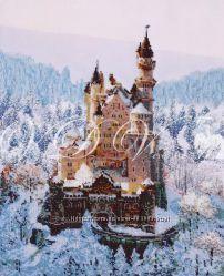 Набор для вышивания картины бисером Сказочный замок