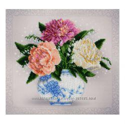 Цветочные этюды - вышивка бисером