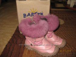 Кожанные Ботиночки для девочки фирмы BARTEK 26 размер