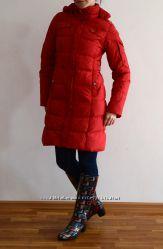 Куртка- пуховик красный, размер S