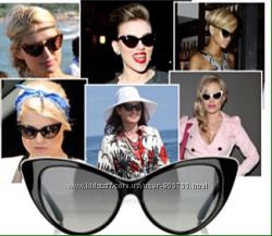 Женские солнцезащитные очки Vintage cat eye