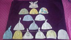 Шапки для новорожденных