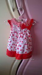 Стильное летнее платье для девочки 62-74 см