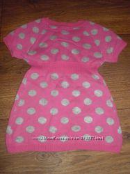 Фирменное тёпленькое платье для девочки
