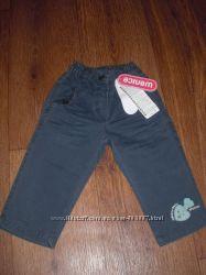 Новые фирменные штаны для девочки 80-86 см
