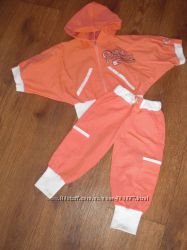 Летний спортивный костюм для девочки 1, 5-2, 5 ле