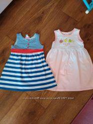 Летние платья, сарафаны Chicco для девочки 92 см