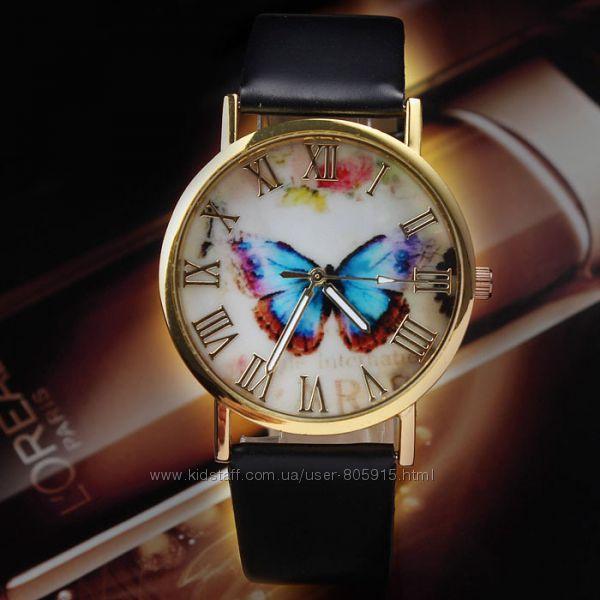 Часы женские  бабочка