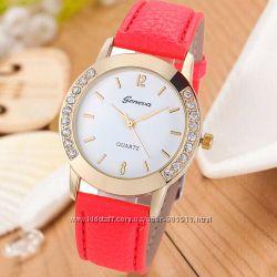 Часы женские Geneva  Twain 5 цветов