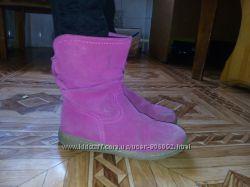 Полусапожки черевички 2 пари на широкі ніжки