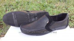 Кожаные туфли-мокасины на мальчика. Харьков