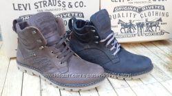 Зимние мужские ботинки Levi&acutes левис. Турция