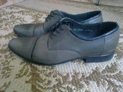 Классические кожаные туфли 41