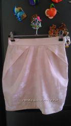 фірменна юбочка ніжно- персикова