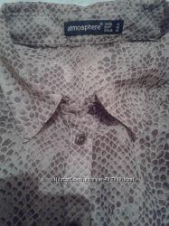 Нарядная блуза со змеиным принтом ATMOSPHERE