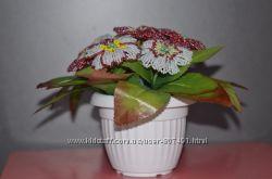 Цветы из бисера под заказ