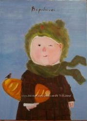 Копия картины Гачинской  в наличии и под заказ