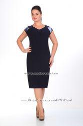 f2b33cb4a78 Летнее нарядное платье с шифоновой накидкой 58-64 Беларусь