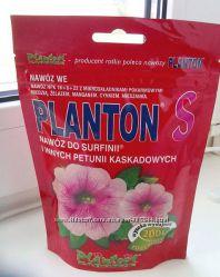 Удобрение PLANTON для петуний, пеларгоний, для лиственных и цветущих