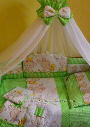 Комплект детской постели 8 элементов