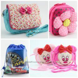 Красивые детские сумочки и рюкзачки