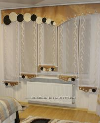 Ламбрекен с панельками в кухню, спальню, детскую яп-32 2. 50