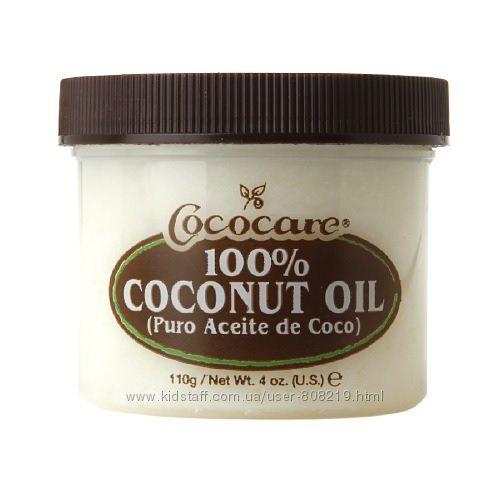 Cococare 100 кокосовое масло для волос и тела  198 гр.